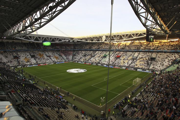Interior Juventus Stadium, Turín, Italia. Capacidad 41.000 espectadores, Equipo local Juventus Football Club.