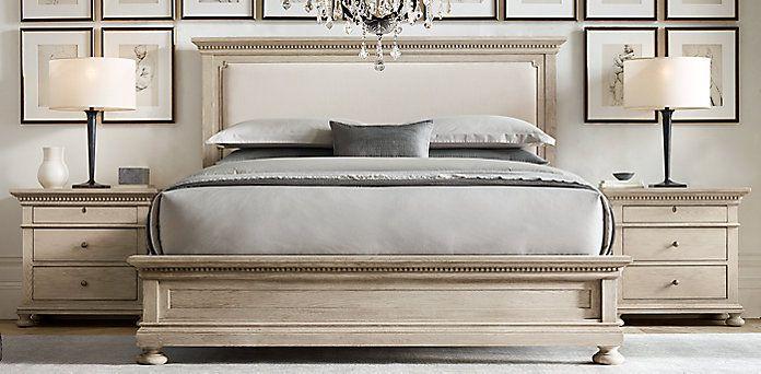 St James Upholstered Panel Collection Rh Bedroom Panel Master Bedroom Redo Remodel Bedroom