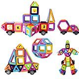 Review for XUELIEE Magnetic Building Blocks Set, 72 Pieces Magnetic Construction Stacking E... - Catherine HALLETT  - Blog Booster