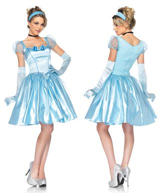 Womens Classic Cinderella Costume  sc 1 st  Pinterest & 46 best Costume ideas images on Pinterest | Halloween prop Deco and ...