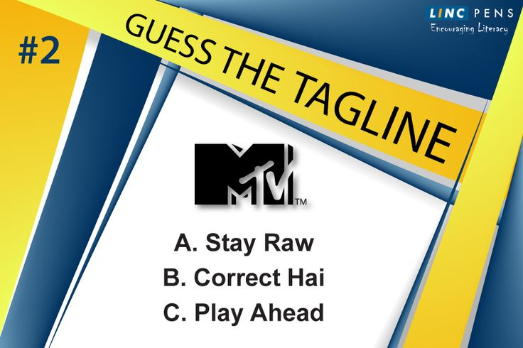 Which of these is the correct #Punchline of #MTV? #CorporateChallenge