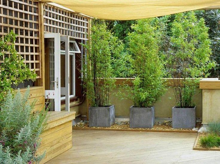 33 besten Jardín Bilder auf Pinterest Balkongarten, Blumentöpfe - vorgartengestaltung mit rindenmulch und kies