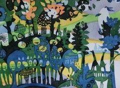 虹の森/多色刷り