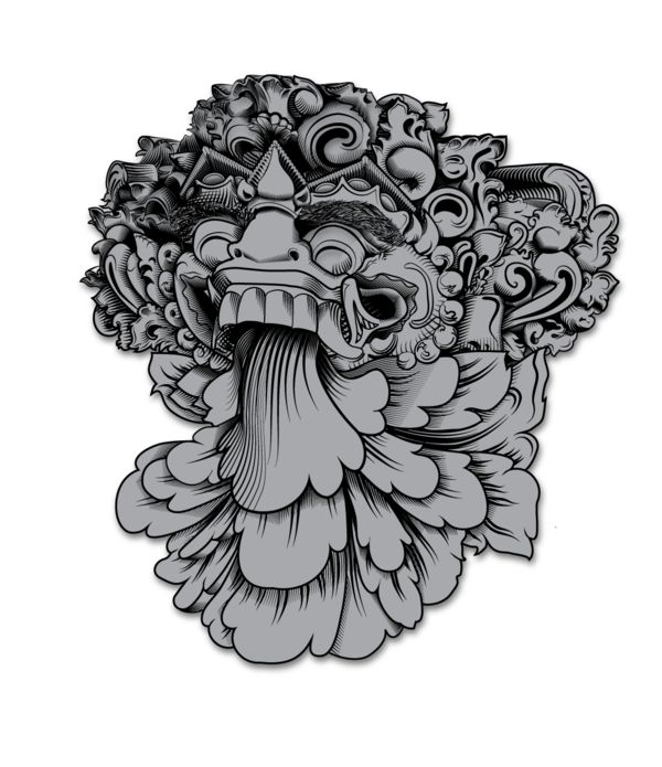 barong bali by bobby haiqalsyah via behance my favorite pinterest behance masks and bali. Black Bedroom Furniture Sets. Home Design Ideas