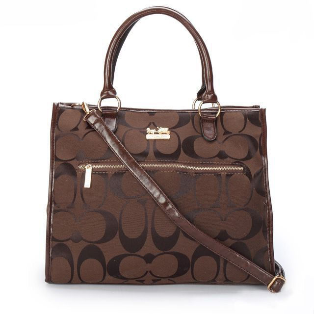 #Coach Outlet Store#Coach In Signature Large Coffee Totes APF$62.99 !Just Click it.