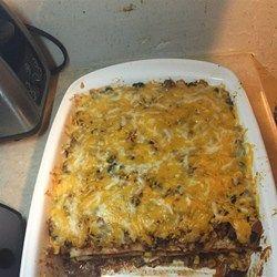 Mexican Quesadilla Casserole - Allrecipes.com. Fast and easy
