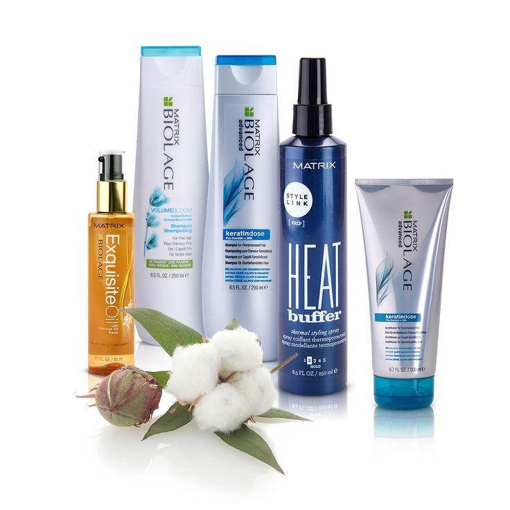 Biolage este cea mai complexă gamă de produse pentru păr, de la brandul Matrix.