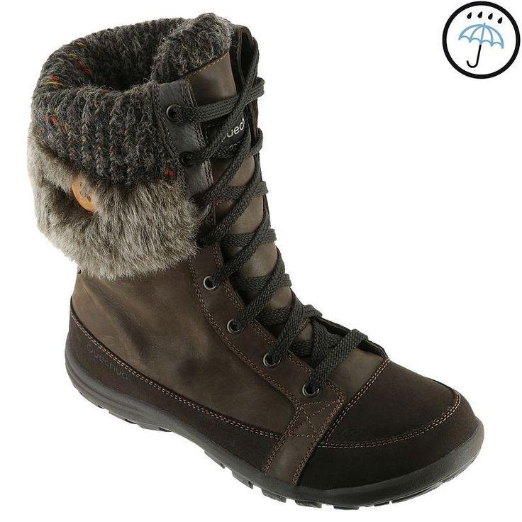 RANDONNEE Habillement Femme Chaussures - BOTTE ARP 700 W WTP F MARRON QUECHUA - Femme