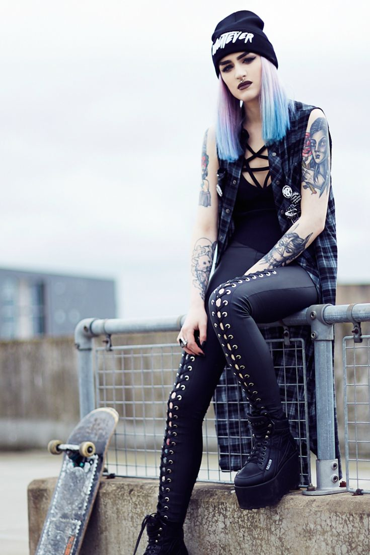 GRUNGE is a fusion of KILLSTAR 's signature occult style with a smattering of 90's vibes. Grunge inspired streetwear for 2017. The collection includes Women's Leather Jackets and outerwear, Dresses, Leggings, Tops, Bags & Accessories. Shop the collection now at KILLSTAR.com   We Ship Worldwide!