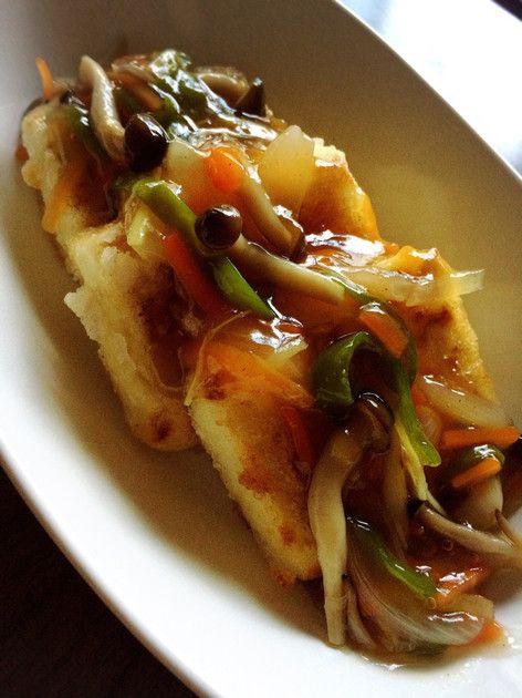 ◆揚げ出し豆腐◆  お年寄り向けに、優しい味で作りました(^^)