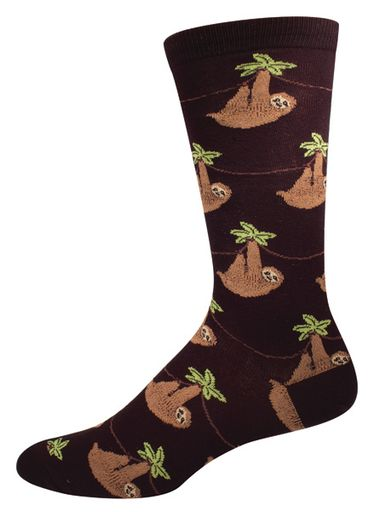 My mom got these for Carson for Christmas, so now we have matching sloth socks.