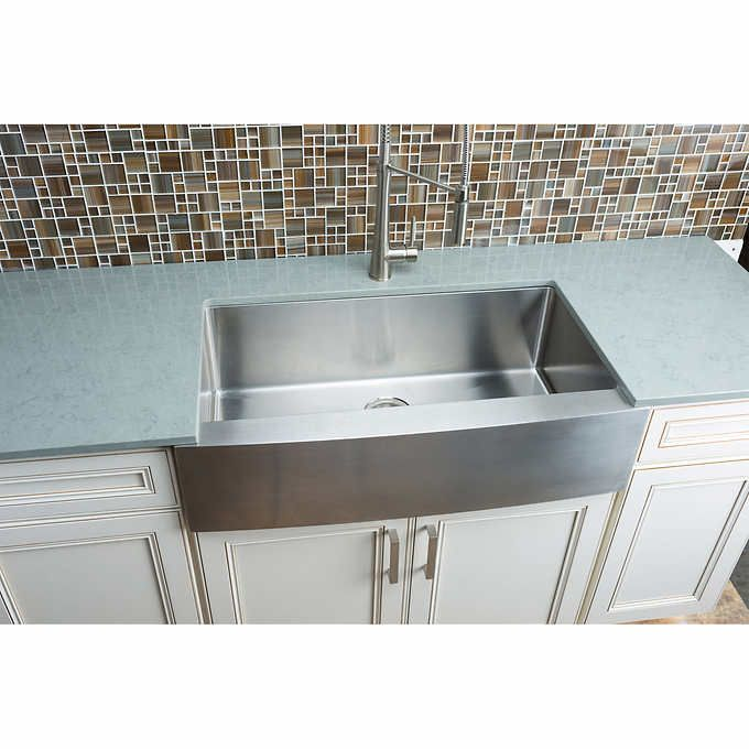 Hahn Chef Series Handmade Extra Large Single Bowl Farmhouse Sink