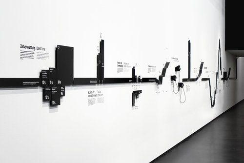 exhibition design - timeline