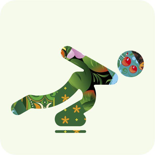 Découvrez les nouveaux pictogrammes créés à l'occasion des jeux Olympiques d'hiver 2014 qui se dérouleront à Sochi, en Russie.