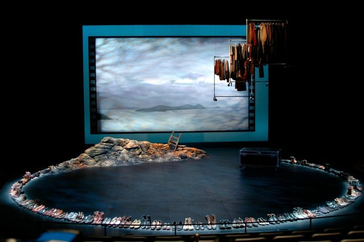 Stones in His Pockets. Repertory Theatre of St. Louis. Scenic Design by Michael Ganio.