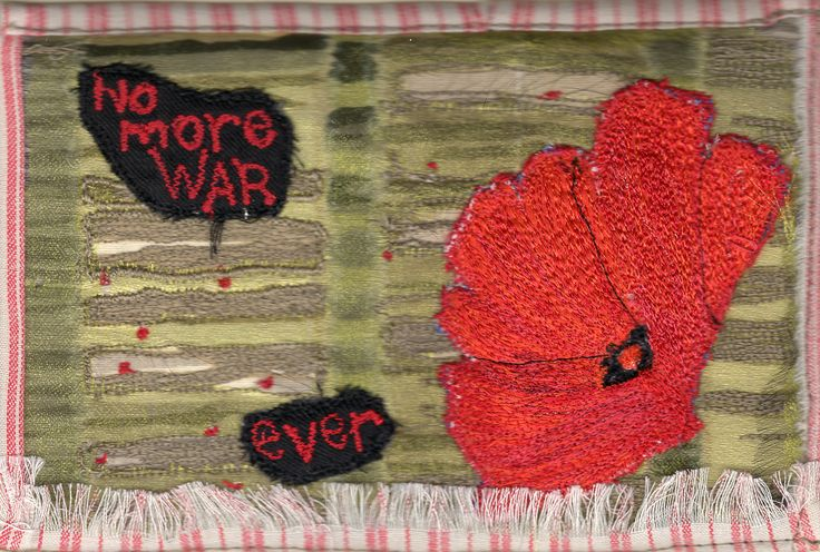 No more WAR - ever.. by Carolyn Paulin