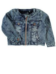 MINI NITSTAR DENIMJAKKE, Medium Blue Denim