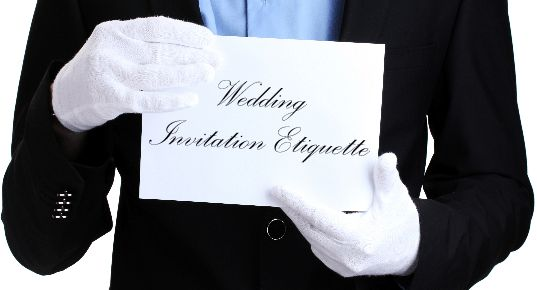 Should Wedding Invitations Be Hand Addressed: 17 Best Ideas About Wedding Invitation Etiquette On