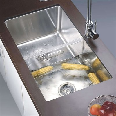 Dawn Dsc301717 Undermount Single Basin Sink With Acrylic