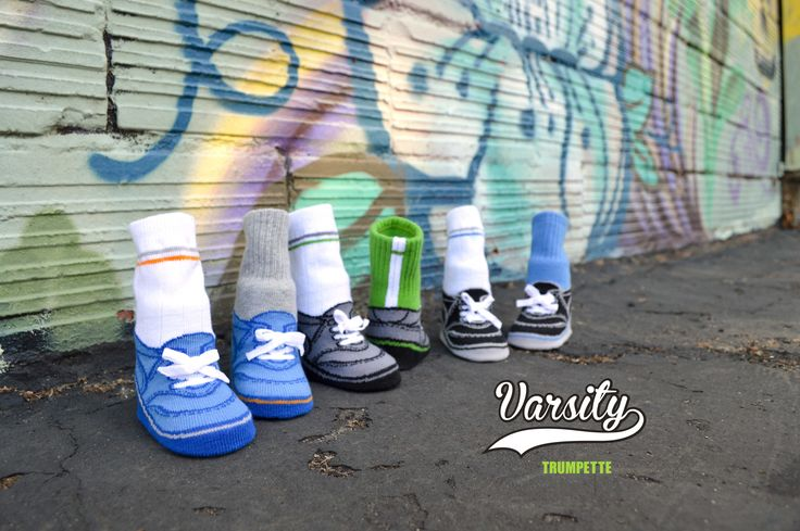 Our Varsity socks are the perfect gift for your little one! Shop trumpette.com