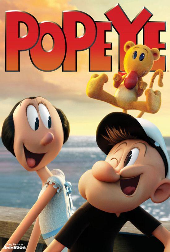 Enquanto não chega: Popeye – O Filme Animado (Sony)