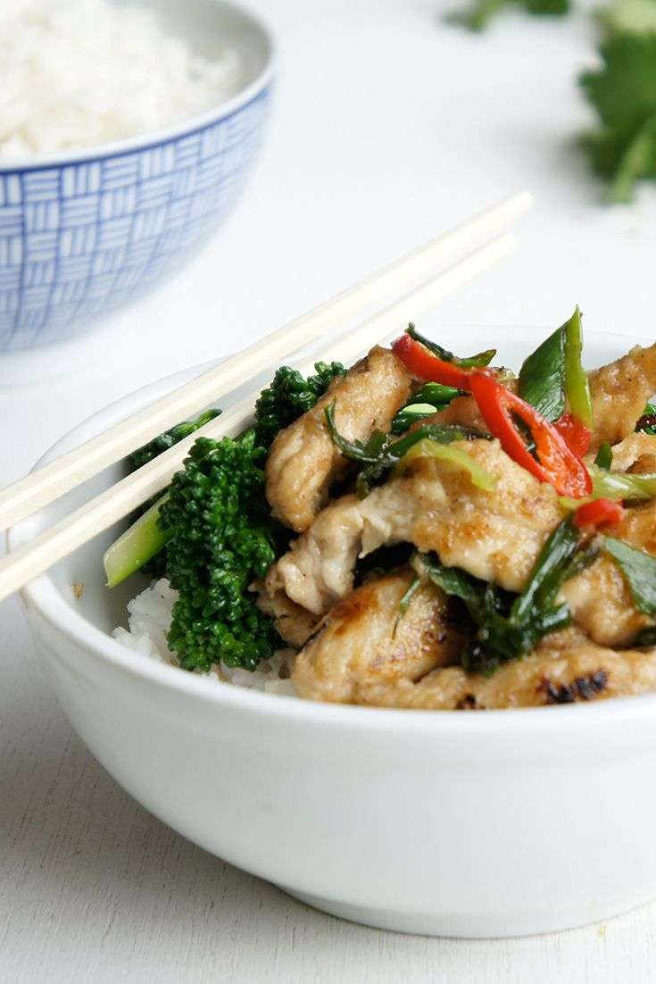 No need to chase waterfalls with this hip Salt and Pepper Chicken by suzannedm!