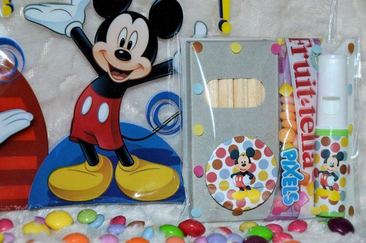 Mickey Mouse traktatie / Disney traktatie bij Traktatie bedankjes! Geboorte bedankjes & Bedankjes. Traktatie, traktaties, trakteren bij Traktatie bedankjes.