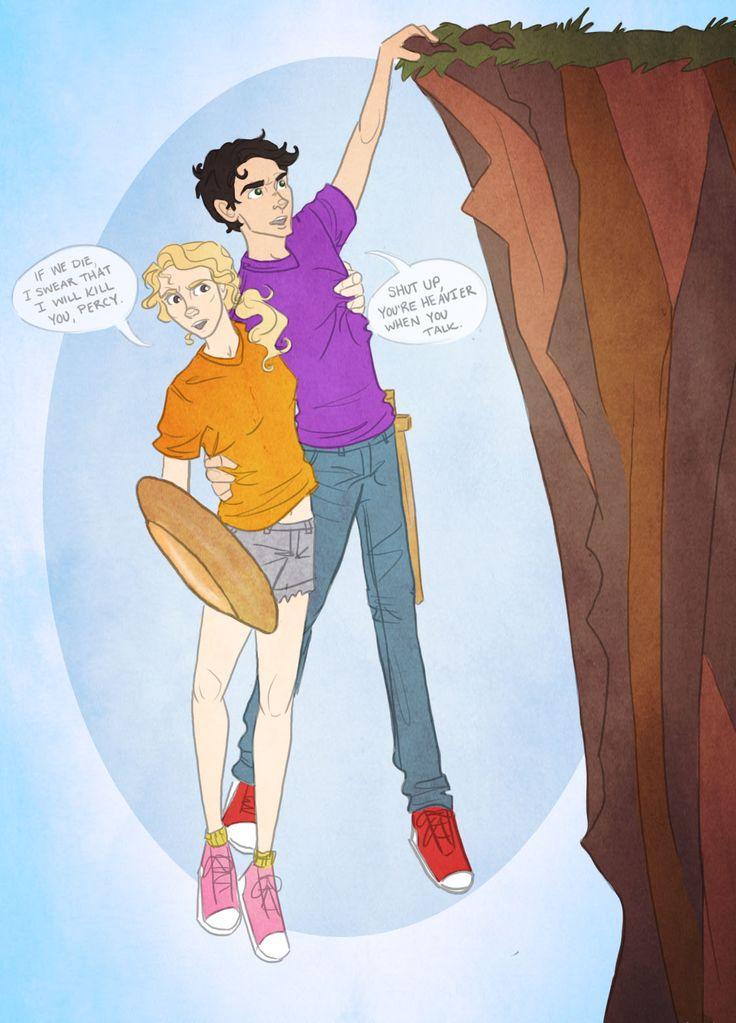 Percy and annabeth porn