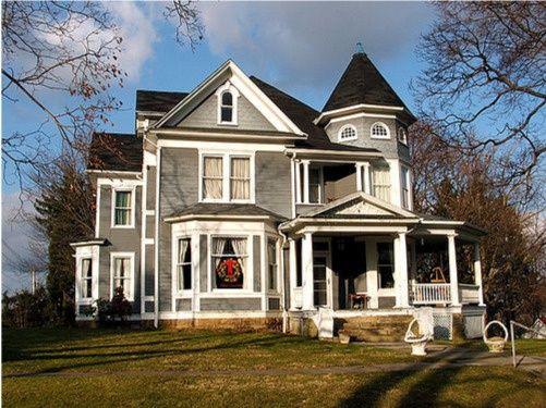 Americanplaces Kingwood West Virginia Via Victorian House WV