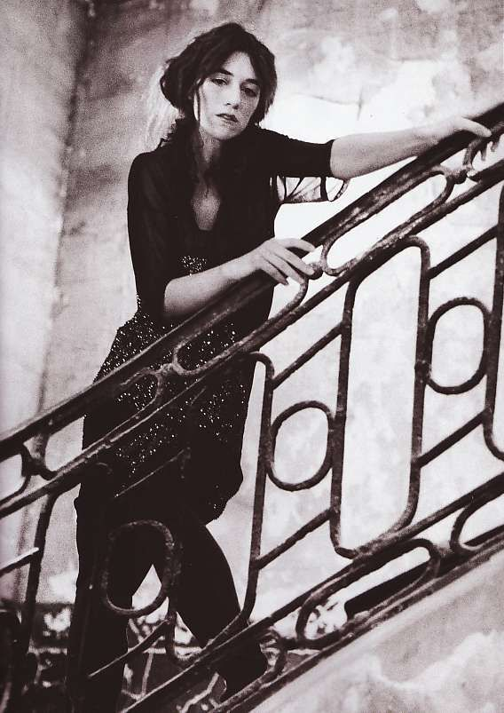 ☆ Charlotte Gainsbourg | Photography by Deborah Turbeville | For Vogue Magazine…