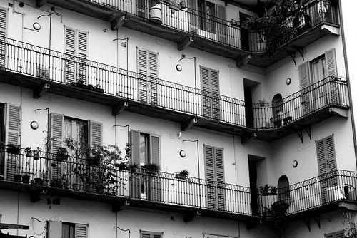 Case di ringhiera, Italia anni '60