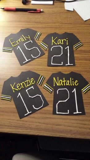 Football jersey door decs great for fall & 1616 best Bulletin Boards and Door Decs images on Pinterest | Ra ...