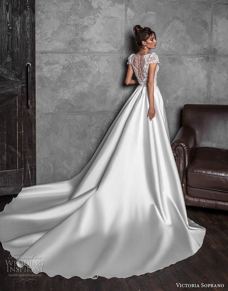 "Victoria Soprano 2020 Wedding Dresses - ""Chic Royal 20 Bridal Collection"