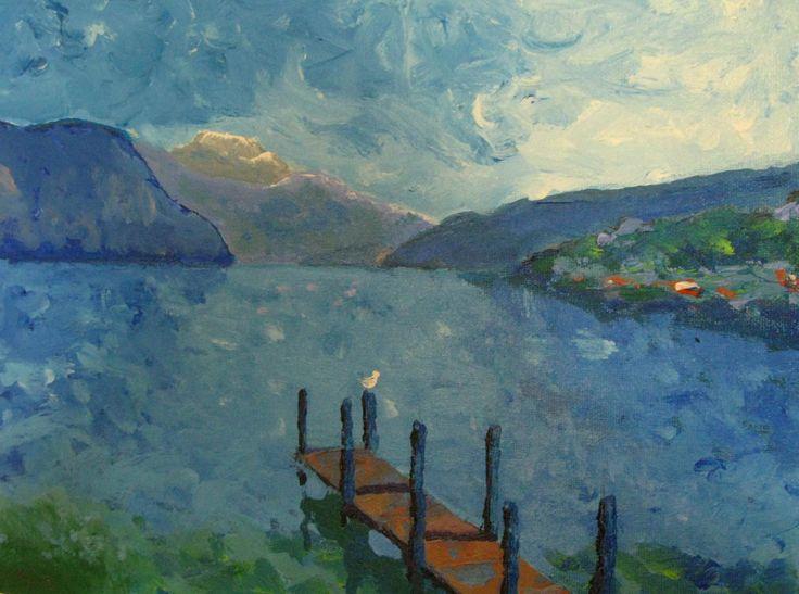 Lake of Annecy by Lorien Cogez