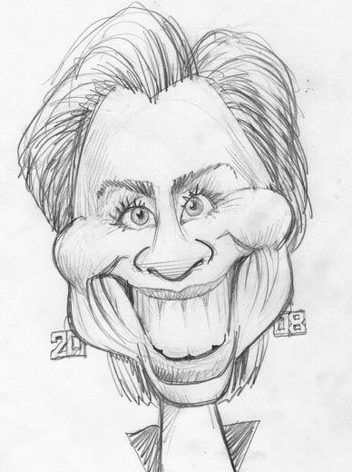 Смешные рисунки людей карандашом, новогодние
