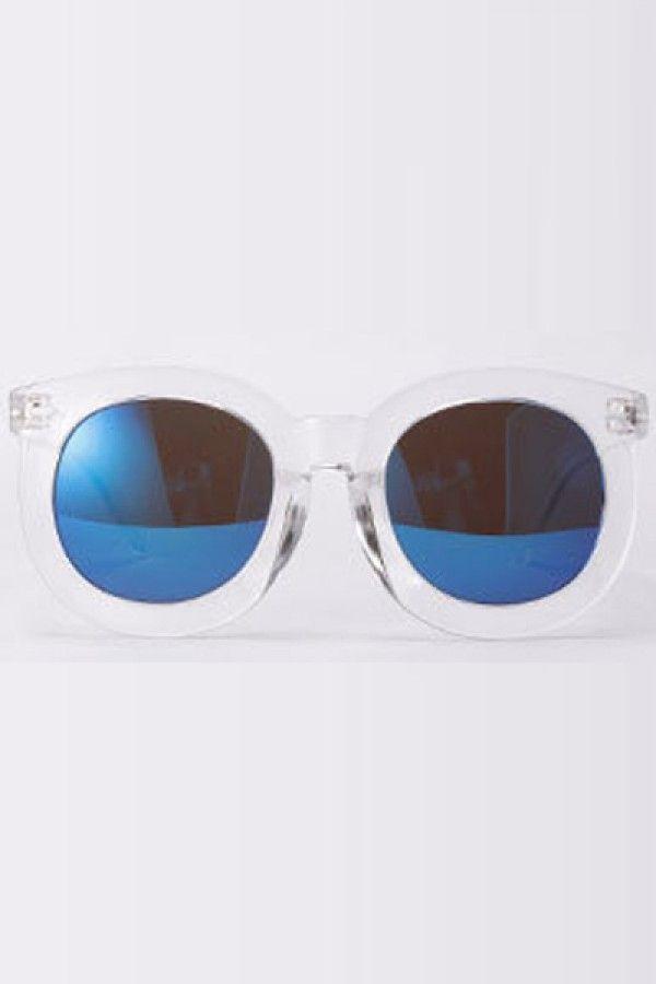 Blue Tinted Lenses Round Frame Oversized Sunglasses @ Womens Sunglasses,Womens Eyewear,Sunglasses,Eye Wear,Discount Sunglasses,Fashion Womens Sunglasses,Cheap Sunglasses,Best Sunglasses,Ladies Sunglasses,Latest Fashion Sunglasses for Sale