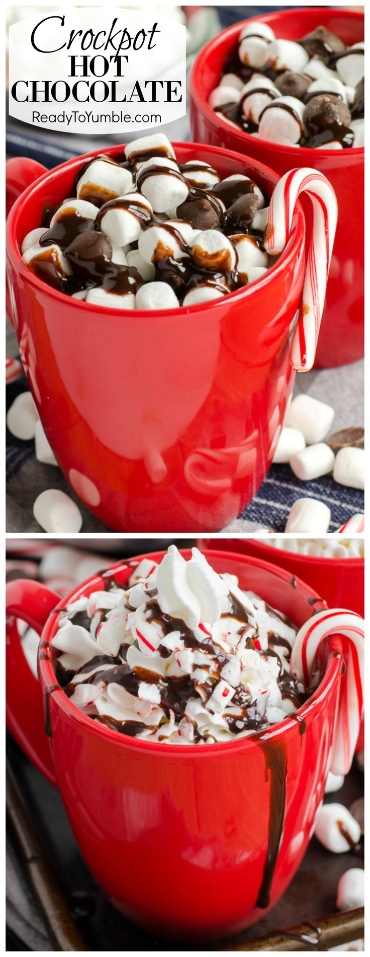 Making hot chocolate for a crowd - Crockpot Hot Chocolate