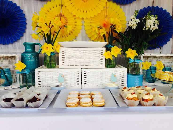 biggest morning Tea set up cancer council
