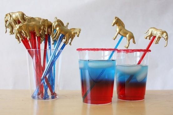 And swizzle sticks. | How To Throw The Best Election Party Ever
