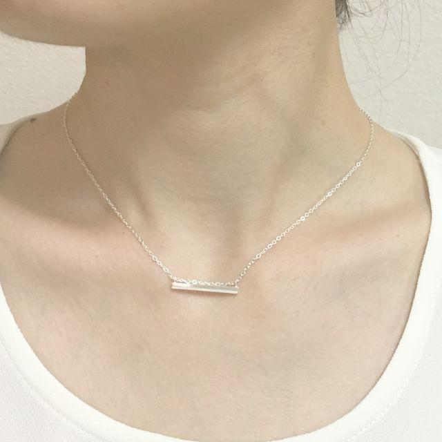 象牙製ピアノ鍵盤のブランコネックレス  Piano ivory key necklace (Blanco)   Apocaθist  (アポカシスト)