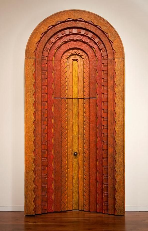 Door and Surround, 1967, Phil Phillip Lloyd Powell (1919-2008) /// Putman-Smith Gallery at the James A. Michener Art Museum.