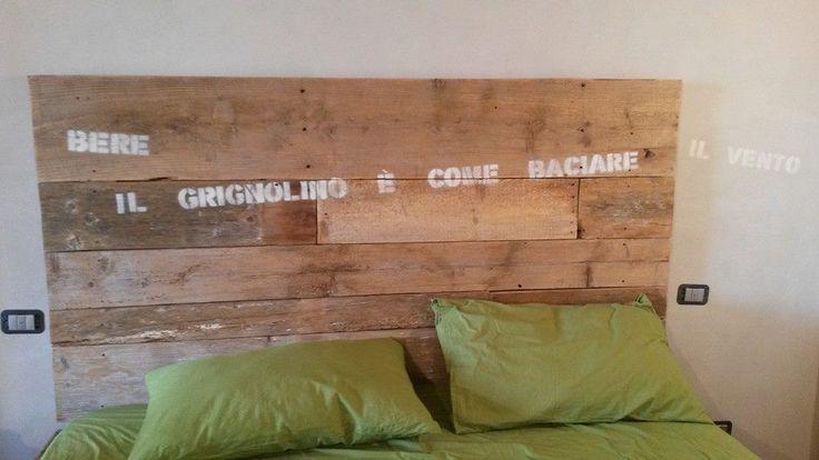 Bere il Grignolino è come baciare il vento (Enza Cavallero) #bed