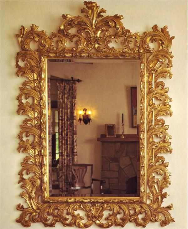 Grand Baroque Mirror from Carvers Guild