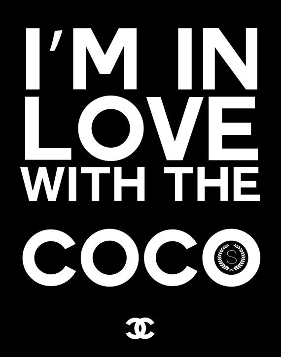 Im In Love With The Coco > 11x14 - Instant Digital Download   PRINT IT YOURSELF: | Once purchased, you will be sent a digital file. You are free to