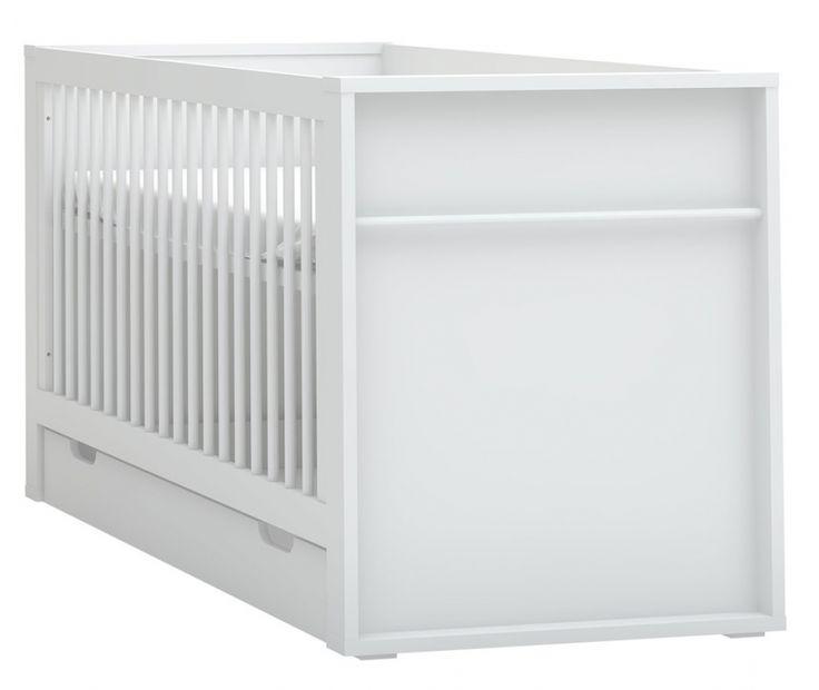 Kinderbett 140x70 mit Schubkasten Snow