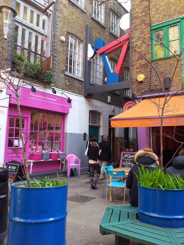 Neal's Yard, London.