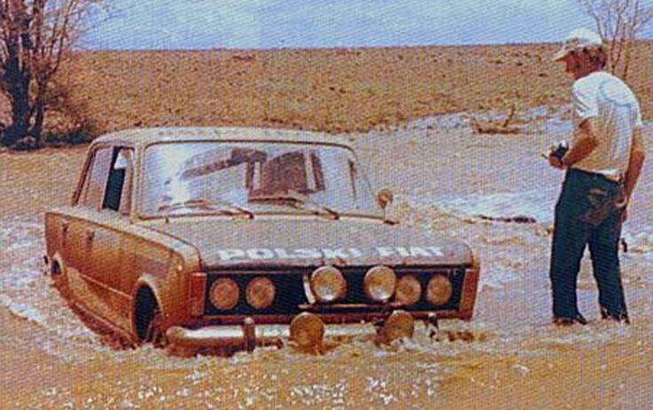 1974 Safari Robert Mucha Polski Fiat 125p 1500 Dnf Fiat Off