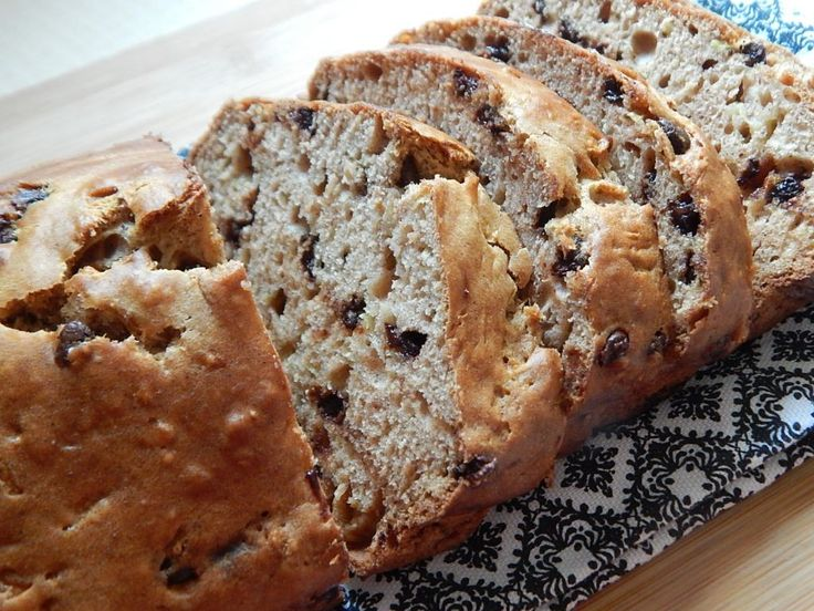 Chocolate chip zucchini loaf