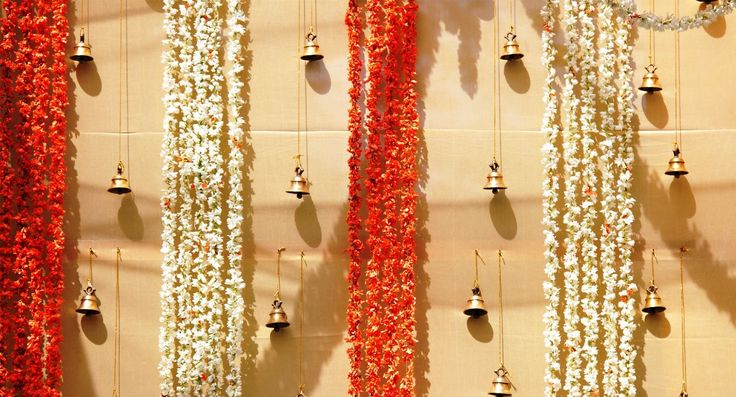 indian wedding marigold decorations - Google Search                                                                                                                                                      More
