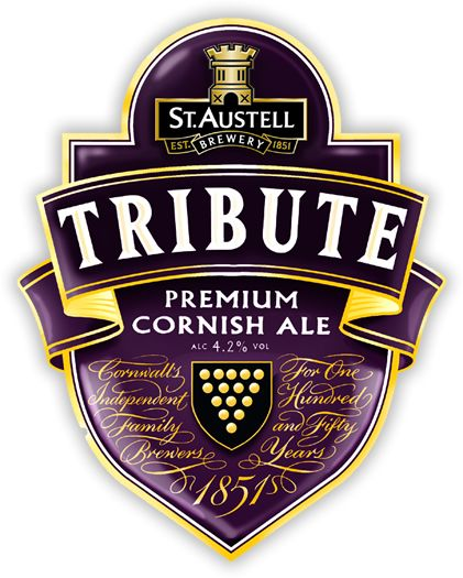 "TRIBUTE | St Austell Brewery: 'Tribute Ale accounts for around 80% of sales - created to commemorate the 1999 solar eclipse. Originally a one-off special named ""Daylight Robbery"" but proved to be so popular it was re-introduced as ""Tribute"" and has since won several awards around the UK.' ✫ღ⊰n"